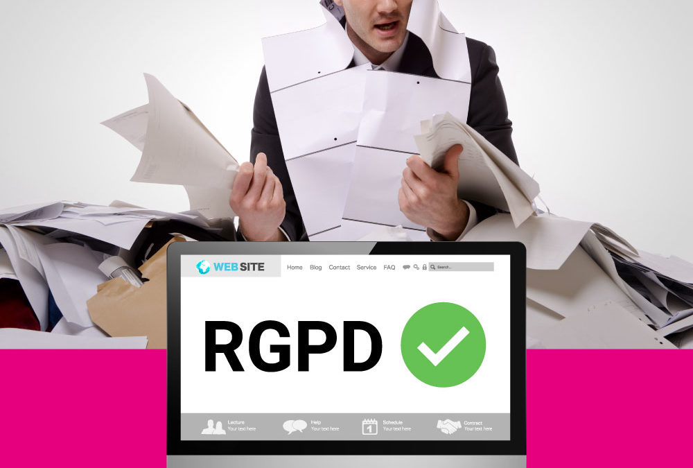 RGPD, la normativa europea de protección de datos.