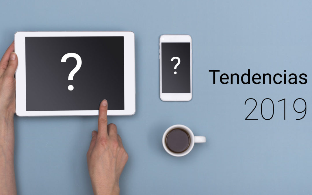 5 Tendencias web para 2019