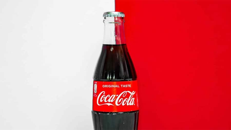imagen de marca de coca cola