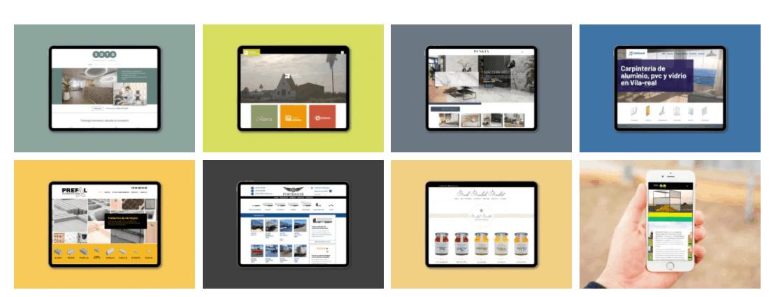portfolio diseño web en castellon
